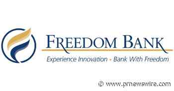 Freedom Bank Receives Honorable Mention in American Bankers Association (ABA) Foundation's 2021 Community Commitment Awards
