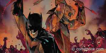 The Justice League Teams up With a Classic Bloodsucker in DC vs Vampires Preview - ComicBook.com