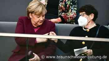 Merkel nur noch geschäftsführende Kanzlerin