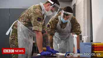 Covid in Scotland: NHS Grampian military request not yet received by MoD