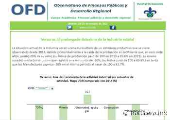 Veracruz, el prolongado deterioro de la industria estatal: OFD - Hora Cero   Noticias de Veracruz