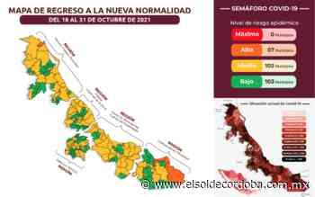 Veracruz registra más de 121 mil casos confirmados por Covid-19 - El Sol de Córdoba