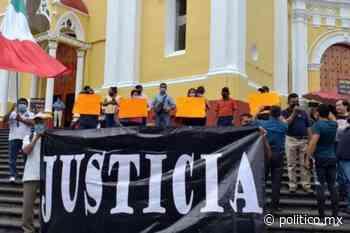Policías durante sexenio de Javier Duarte en Veracruz protestaron por presunto desfalco de 100 mdp - Político MX