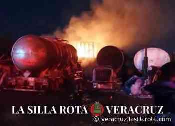 Fiscalía investiga incendio en pensión de tráileres en Veracruz - La Silla Rota