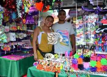 Se alistan comerciantes de Veracruz para el Día de Muertos - Imagen de Veracruz