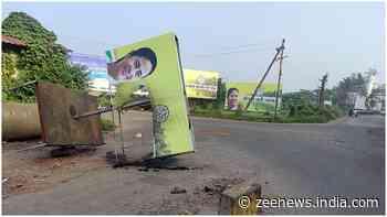 TMC blames BJP for defacing Mamata Banerjee`s hoardings in Goa