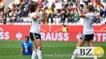 Perfekte Bilanz: Deutsche Fußballerinnen dominieren Israel