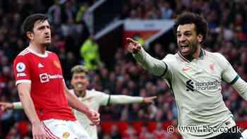 Manchester United 0-5 Liverpool: Salah hat-trick as Solskjaer's side thrashed