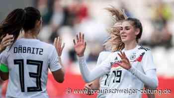 7:0 gegen Israel: DFB-Frauen entdecken Torhunger wieder