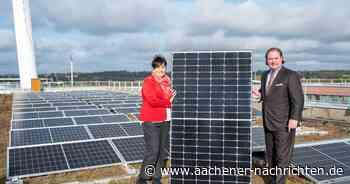 Solar-Initiative: Große Photovoltaik-Anlage auf Aachener Finanzzentrum eröffnet