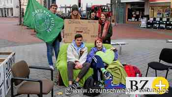 Fridays for Future startet Mahnwache in Gifhorn