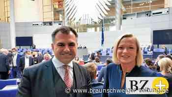 So lief Dunja Kreisers erster Tag im Bundestag