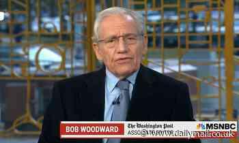 Woodward says Trump associates who convened at Willard 'war room' Jan 5th may have broken fraud law