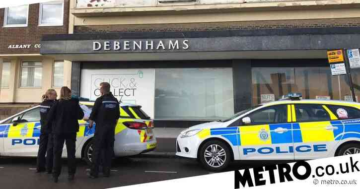 Hunt for 'middle-aged' rapist after man attacked behind Debenhams