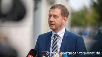 Migration über Belarus: Kretschmer plädiert für befestigte EU-Außengrenze