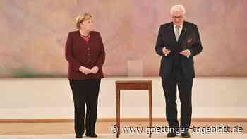 Merkels Entlassung: Wenn der Bundespräsident wehmütig wird und die Kanzlerin es eilig hat