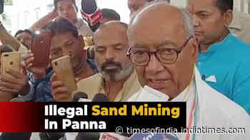 Madhya Pradesh: Cong leader Digvijay Singh files complaint against illegal mining
