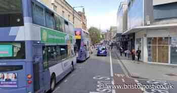 LIVE: Bristol 'police incident' diverts city centre buses as traffic builds