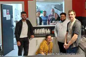 Calderdale job support workers cook meal for addiction and homeless charity - Halifax Courier