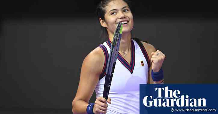 Emma Raducanu fights back in Romania to seal first win since US Open