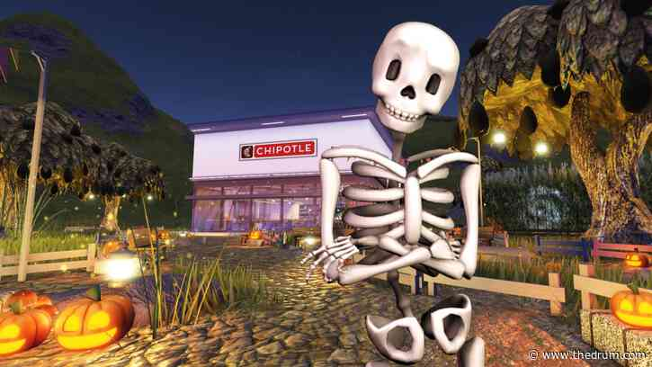 Chipotle brings Halloween 'Boorito' event to metaverse by opening Roblox storefront
