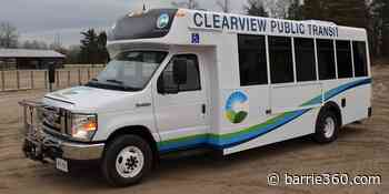 Clearview Launches Online Transit Fares November 1st - Barrie 360