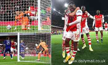 Arsenal 2-0 Leeds United: Gunners advance to the Carabao Cup quarter finals
