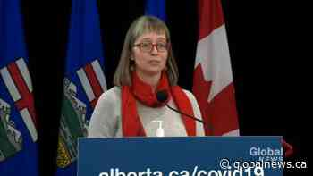 No set date or metric for when Alberta may loosen COVID-19 restrictions: Hinshaw