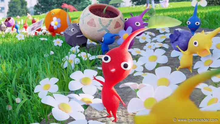 Pikmin are ready to take over your phone in the new game from Niantic, Nintendo, and Miyamoto