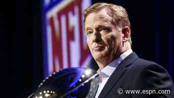 WFT report will not be released, Goodell says