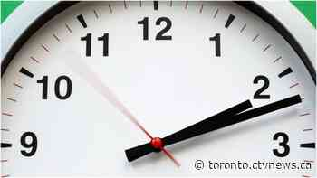 Clocks will soon go back in Ontario and one politician hopes it's for the last time