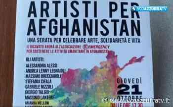 """""""Artisti per Afghanistan"""" a Omegna - Notizie - Azzurra TV"""