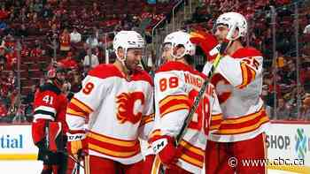 Mangiapane strikes twice to fuel Flames past Devils for 4th-consecutive win