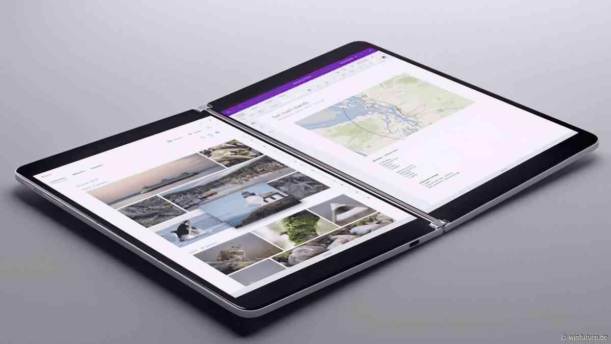 Surface Neo: Prototyp zum eingemotteten Doppel-Display-Tablet aufgetaucht - WinFuture