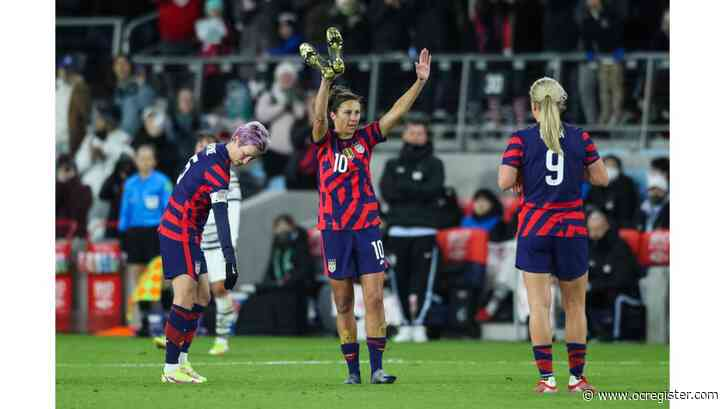 Carli Lloyd plays final match for U.S. in rout of South Korea