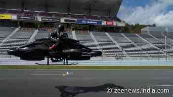 Japanese startup backed by Football player launches Rs 5 crore ($6,80,000) flying motorcycle