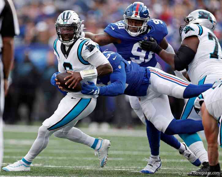 Giants defense answers challenge from coaches and Panthers' Matt Rhule