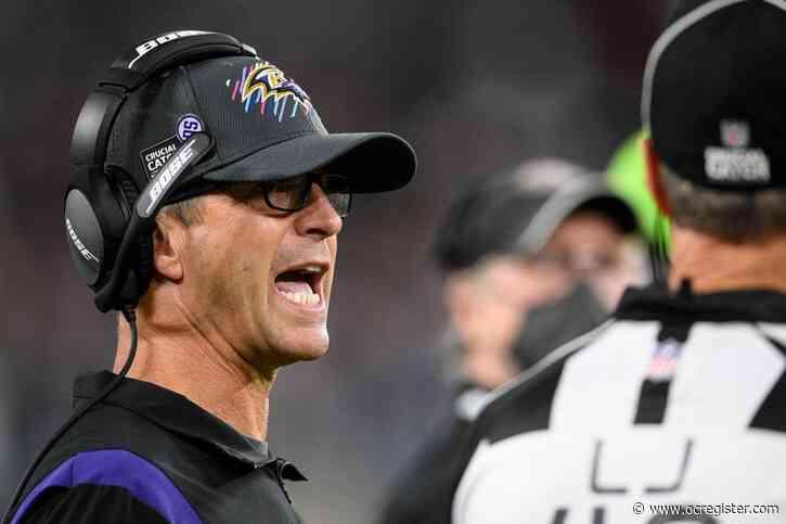 Ravens elevate practice squad OT David Sharpe for game vs. Bengals