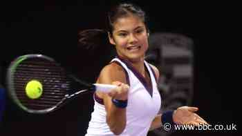 Transylvania Open: Emma Raducanu fights back for first win since US Open