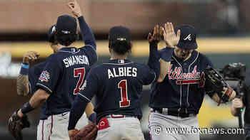 World Series: Braves take Game 1 with hot start, lose Charlie Morton