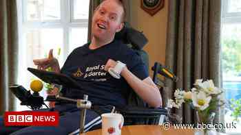 Injured veteran up for 'inspirational' award after cycling 60 miles