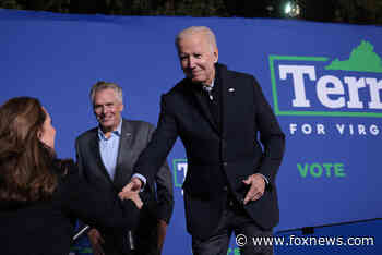 Biden briefly 'stumbles' during speech at McAuliffe rally, critics seize