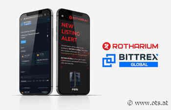 """Österreichische Kryptowährung Rotharium auf der Plattform """"Bittrex Global"""" erhältlich - APA OTS"""