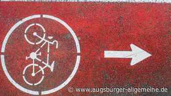 Der Radweg zwischen Inningen und Göggingen wurde auf Vordermann gebracht - Augsburger Allgemeine