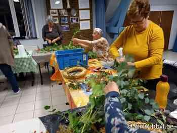 Ferm Binderveld maakt mooie herfstkransen