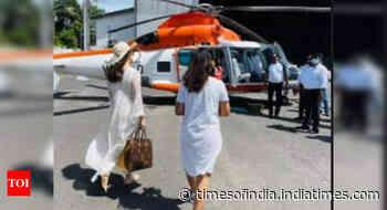 Kangana jets off to Andaman for 'Tejas'