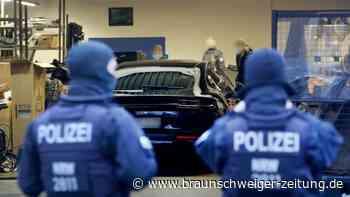 Razzia gegen Geldwäsche-Bande in NRW