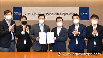 CATL and Hyundai MOBIS sign CTP technology licensing and partnership agreement