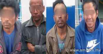 Irapuato: Detienen a 4 hombres por robo de cable telefónico y malla ciclónica - Periódico AM