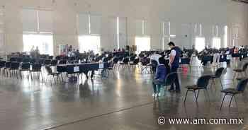 Vacuna COVID Irapuato: Luce desierta sede de vacunación en el Inforum - Periódico AM